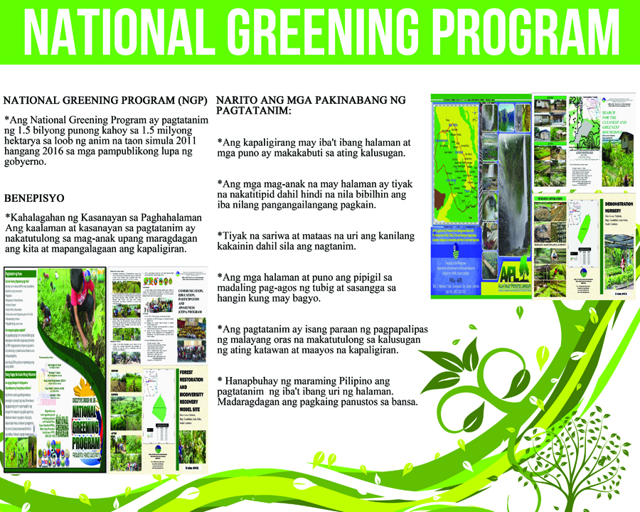 National Greening B 5X4 to send